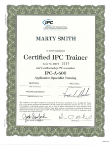 IPC-A-600_Certified_Trainer