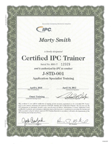 J-STD-001_Certified_Trainer